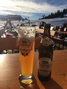 Deutsches Bier auf österreichischen Skihütten - muss das sein?