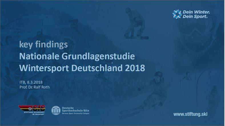 Grundlagenstudie Wintersport, Deutsche Sporthochschule Köln